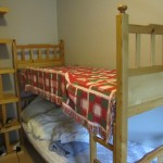 Second bedroom also has a bunk bed